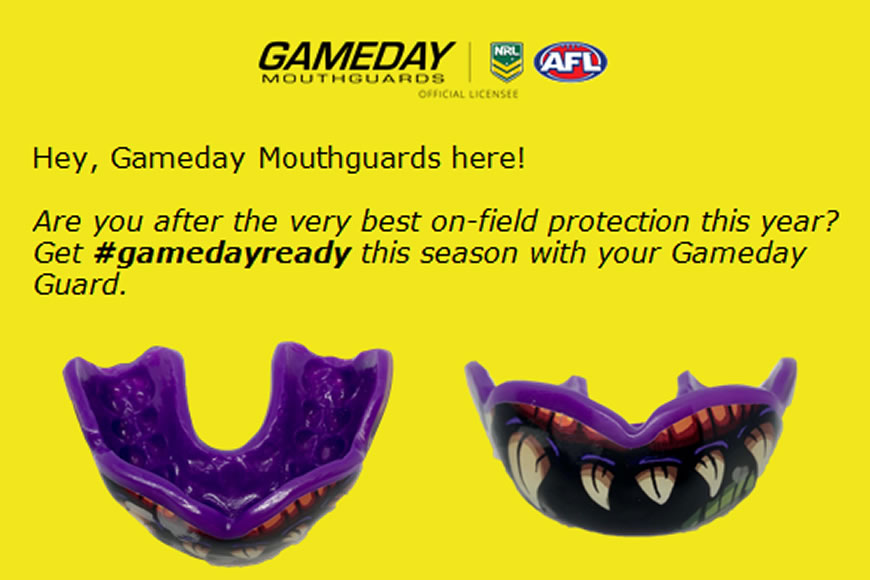 Get 20% of Game Day Mouthguards