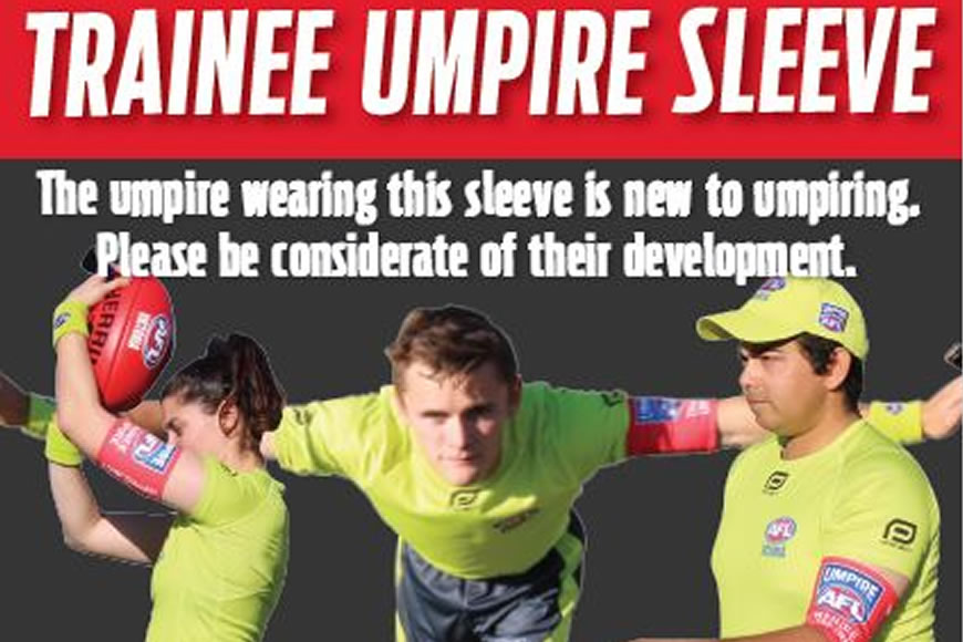 Trainee Umpire Sleeve