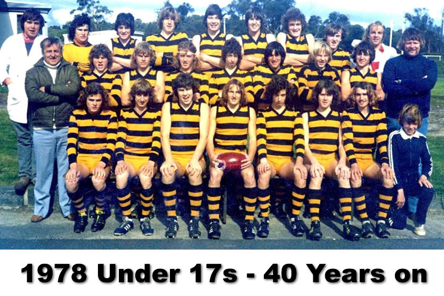 1978 Under 17s team – 40 years on