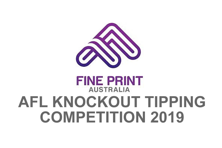 Closing soon - AFL Knockout Tipping Competition 2019